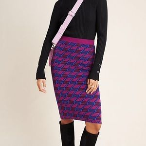 Maeve Nancy sweater pencil skirt NWT